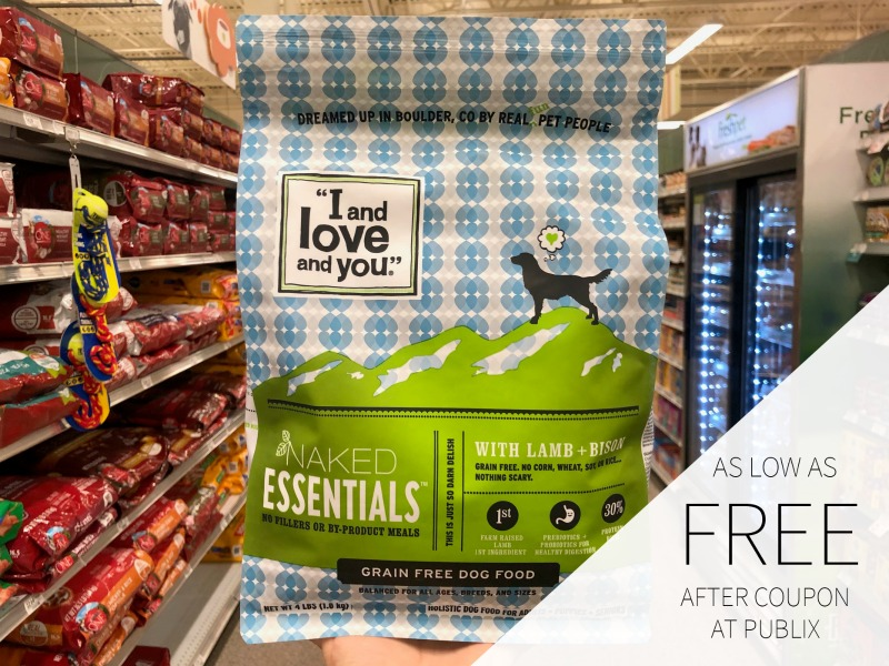"""""""I and Love and You"""" Dog Food As Low As FREE At Publix on I Heart Publix 1"""