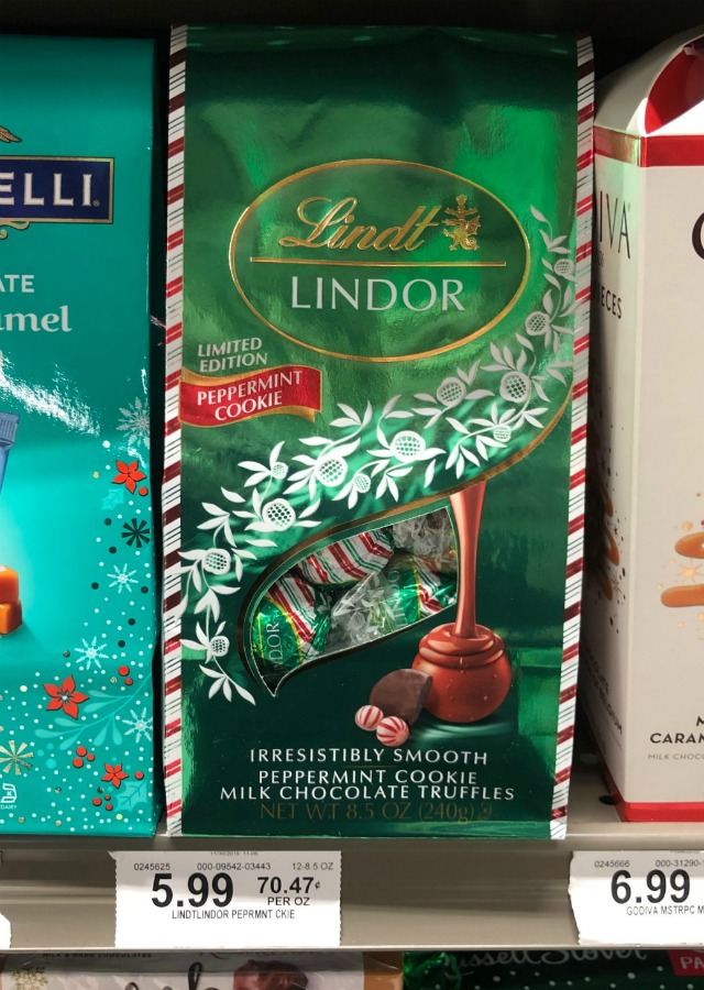 New Lindt Lindor Holiday Chocolate Coupon on I Heart Publix
