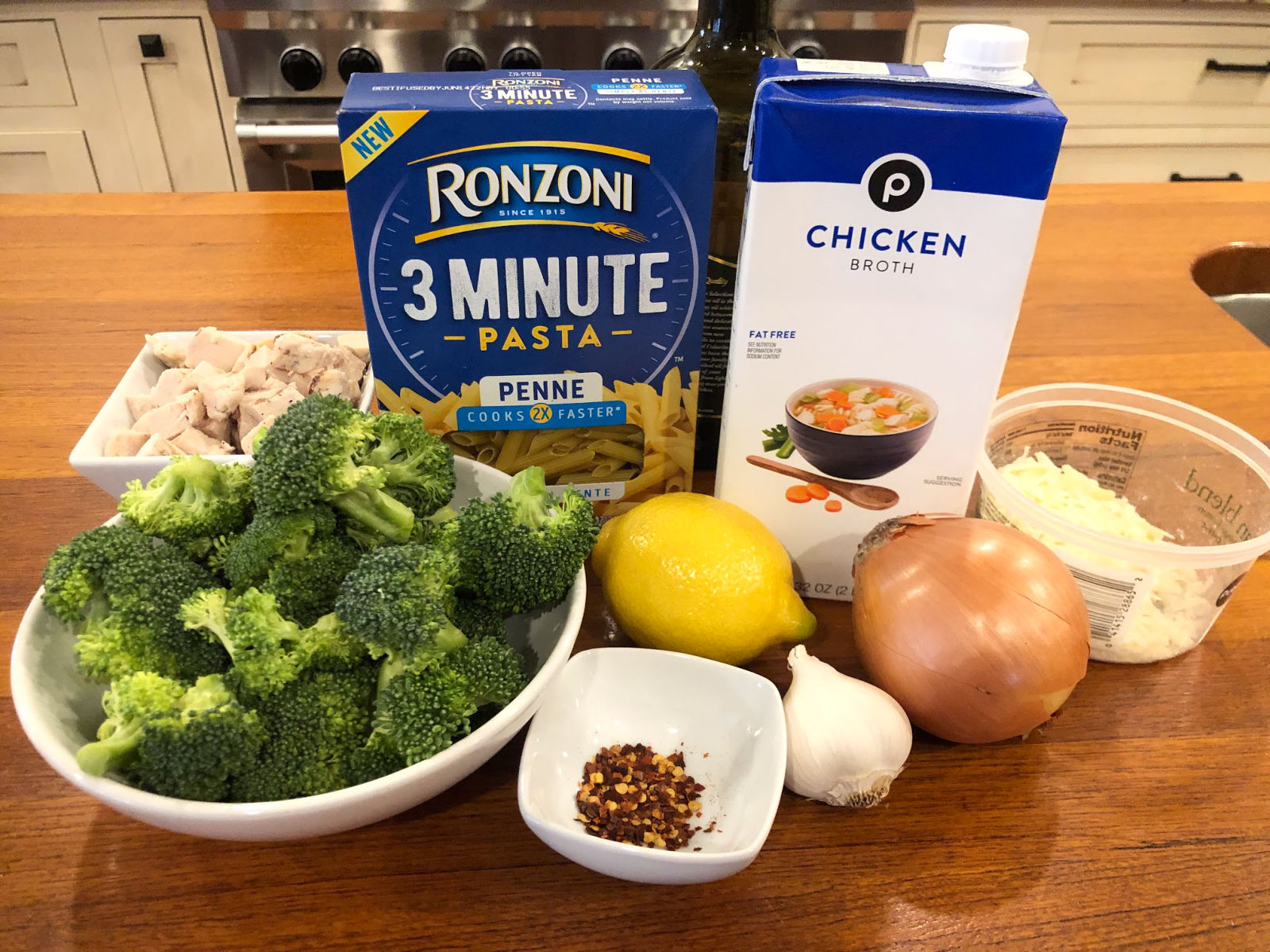 Lemony Broccoli Pasta & Chicken Skillet on I Heart Publix