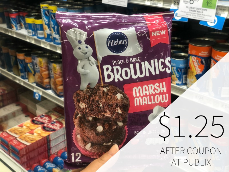 New BOGO Pillsbury Brownies Digital Coupon For Publix Sale - Just $1.25 on I Heart Publix 1