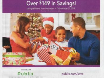 Publix Health & Beauty Advantage Buy Flyer Valid 12/14 to 12/27 on I Heart Publix