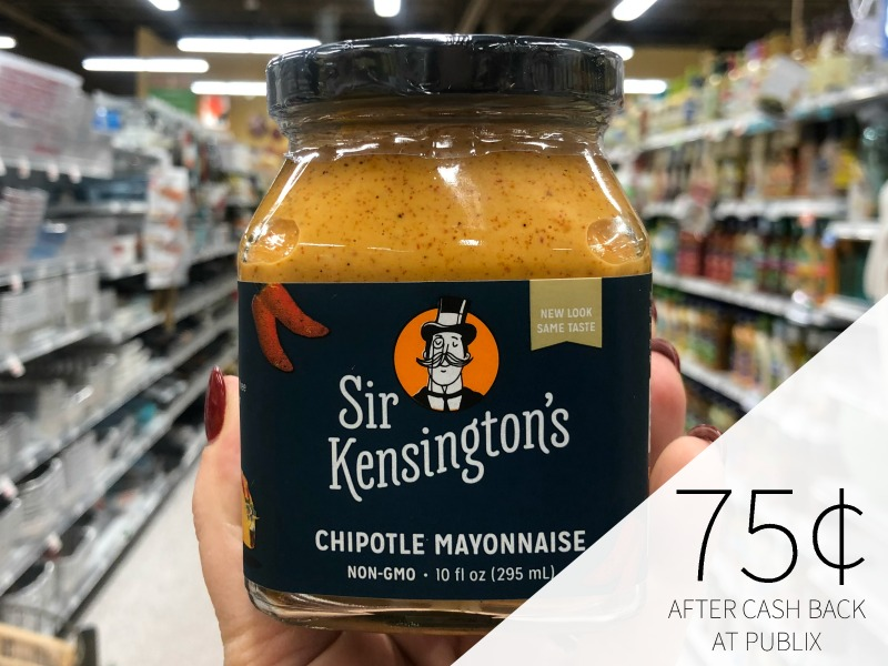 Nice Deals On Sir Kensington's Products - Chipotle Mayonnaise Just 75¢ At Publix on I Heart Publix
