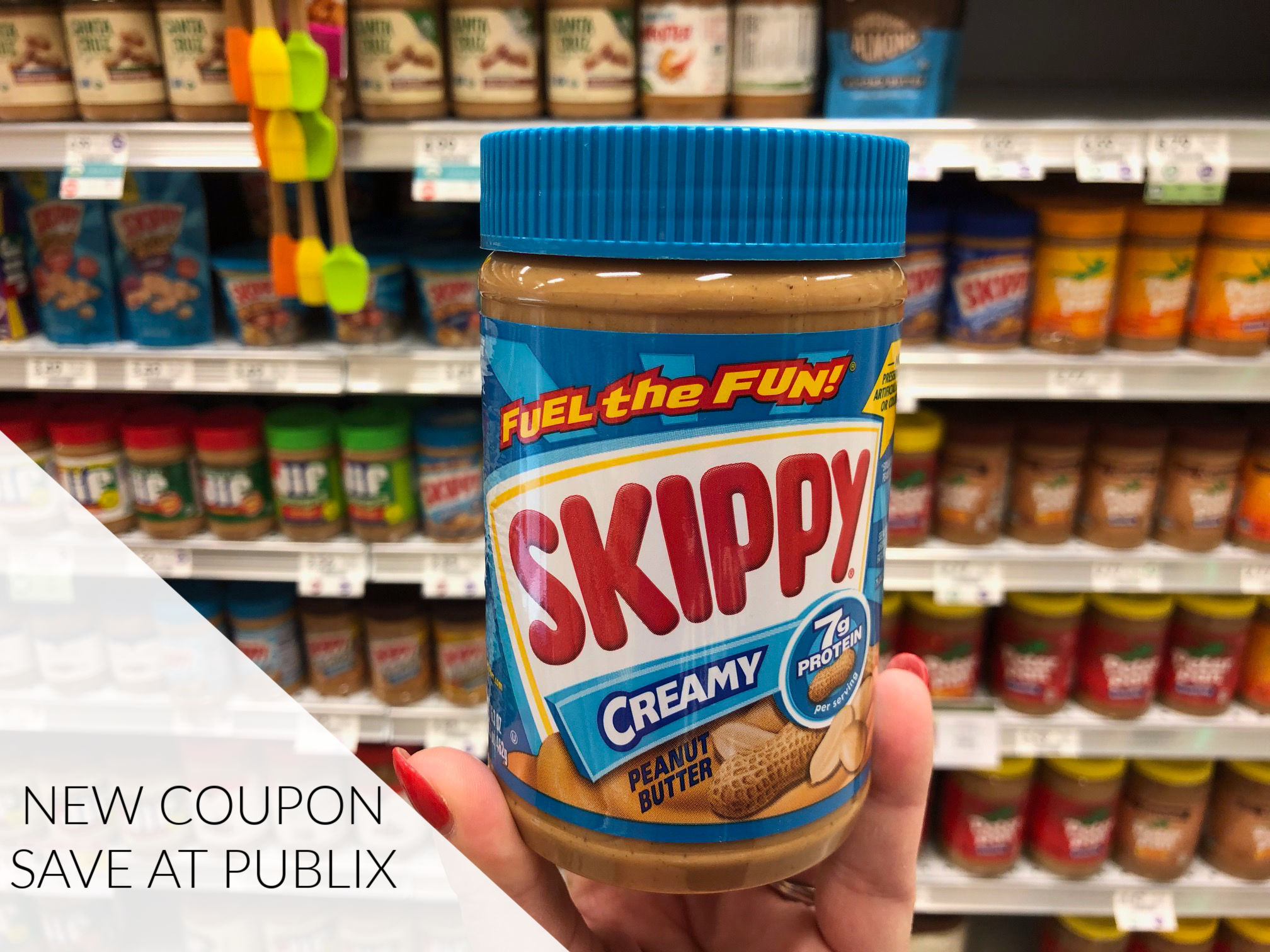 New Skippy Coupon - Save On Peanut Butter Or PB Bites on I Heart Publix