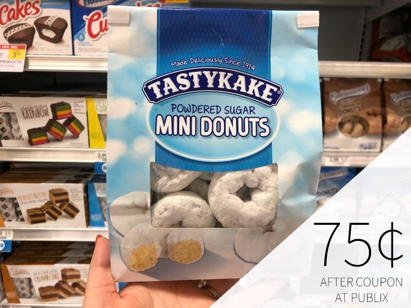 Tastykake Mini Donuts Just 75¢ At Publix on I Heart Publix