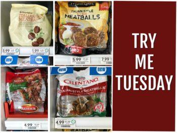 Try Me Tuesday - Publix Italian Style Meatballs on I Heart Publix