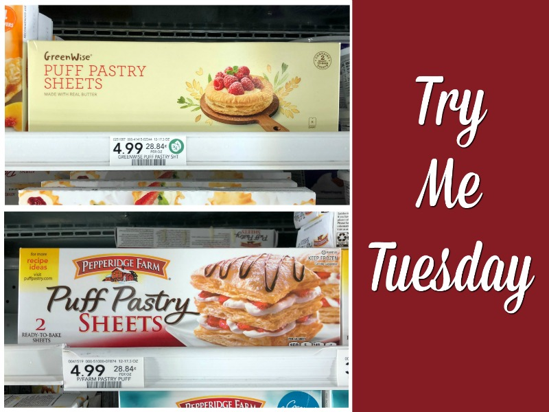 Try Me Tuesday Publix Puff Pastry Sheets
