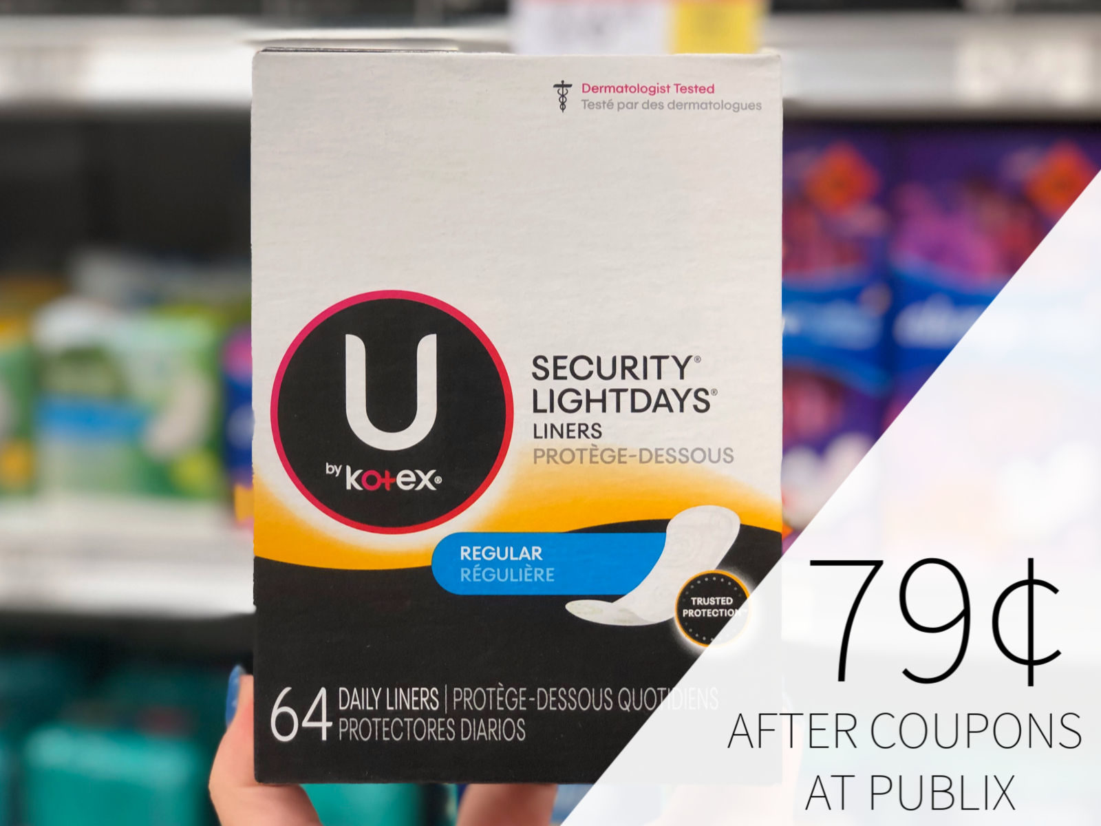 Big Savings On U by Kotex, Poise, & Depend Products At Publix - Time To Stock Up! on I Heart Publix