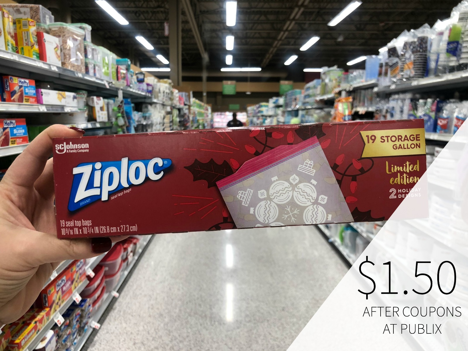Spread Holiday Cheer With Ziploc® Brand Holiday Storage Bags & Containers on I Heart Publix