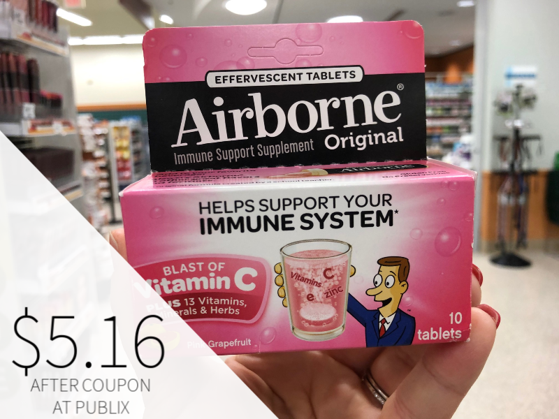 New Airborne Product Coupon - on I Heart Publix 3