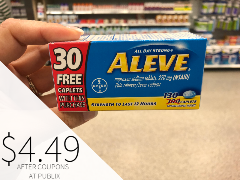 New Aleve Coupon - Just $4.49 At Publix on I Heart Publix 1