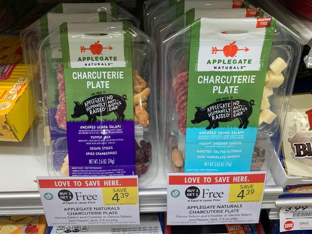 Applegate Naturals Charcuterie Plate Just $1.20 At Publix on I Heart Publix
