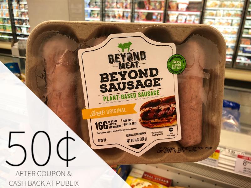 Beyond Meat Sausage Only 50¢ At Publix on I Heart Publix