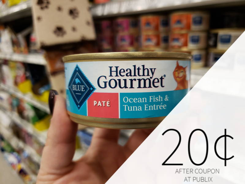 Blue Buffalo Healthy Gourmet Pet Food Only 20¢ At Publix on I Heart Publix 1