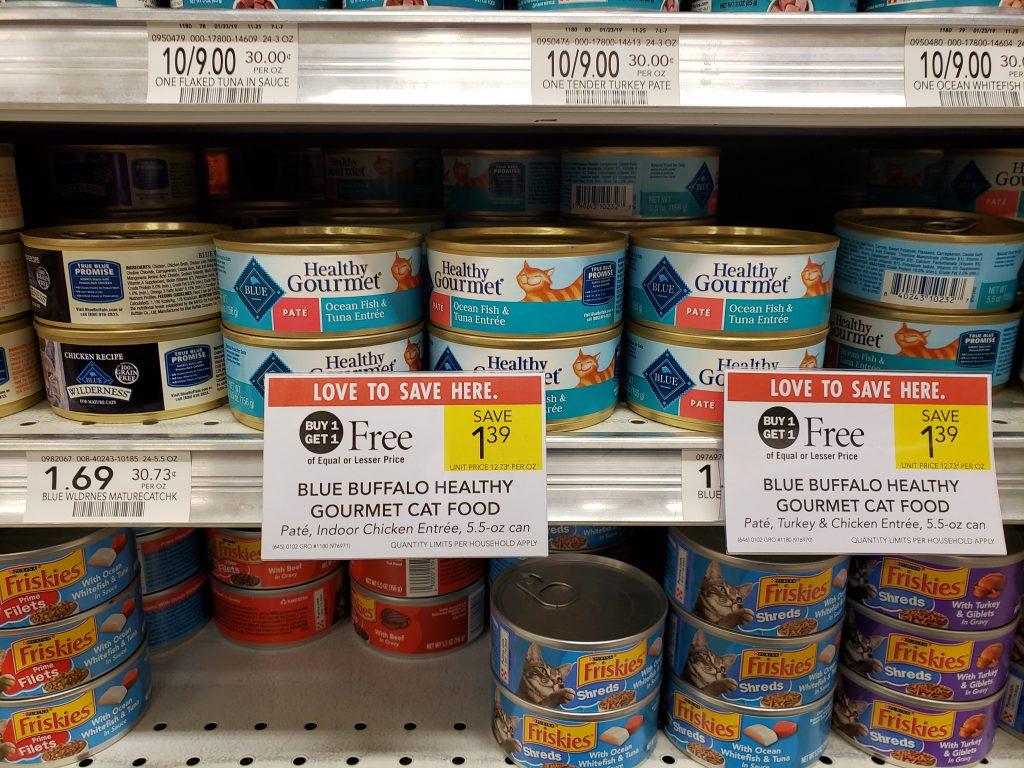 Blue Buffalo Healthy Gourmet Cat Food on I Heart Publix
