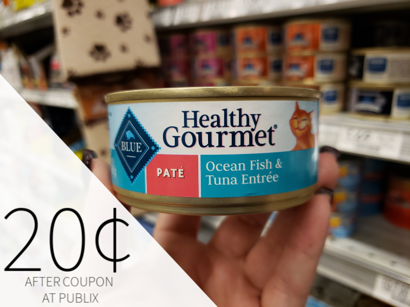 Blue Buffalo Healthy Gourmet Cat Food on I Heart Publix 1