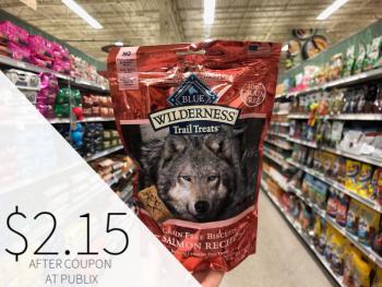 Blue Wilderness Crunchy Dog Treats Just $2.15 At Publix on I Heart Publix