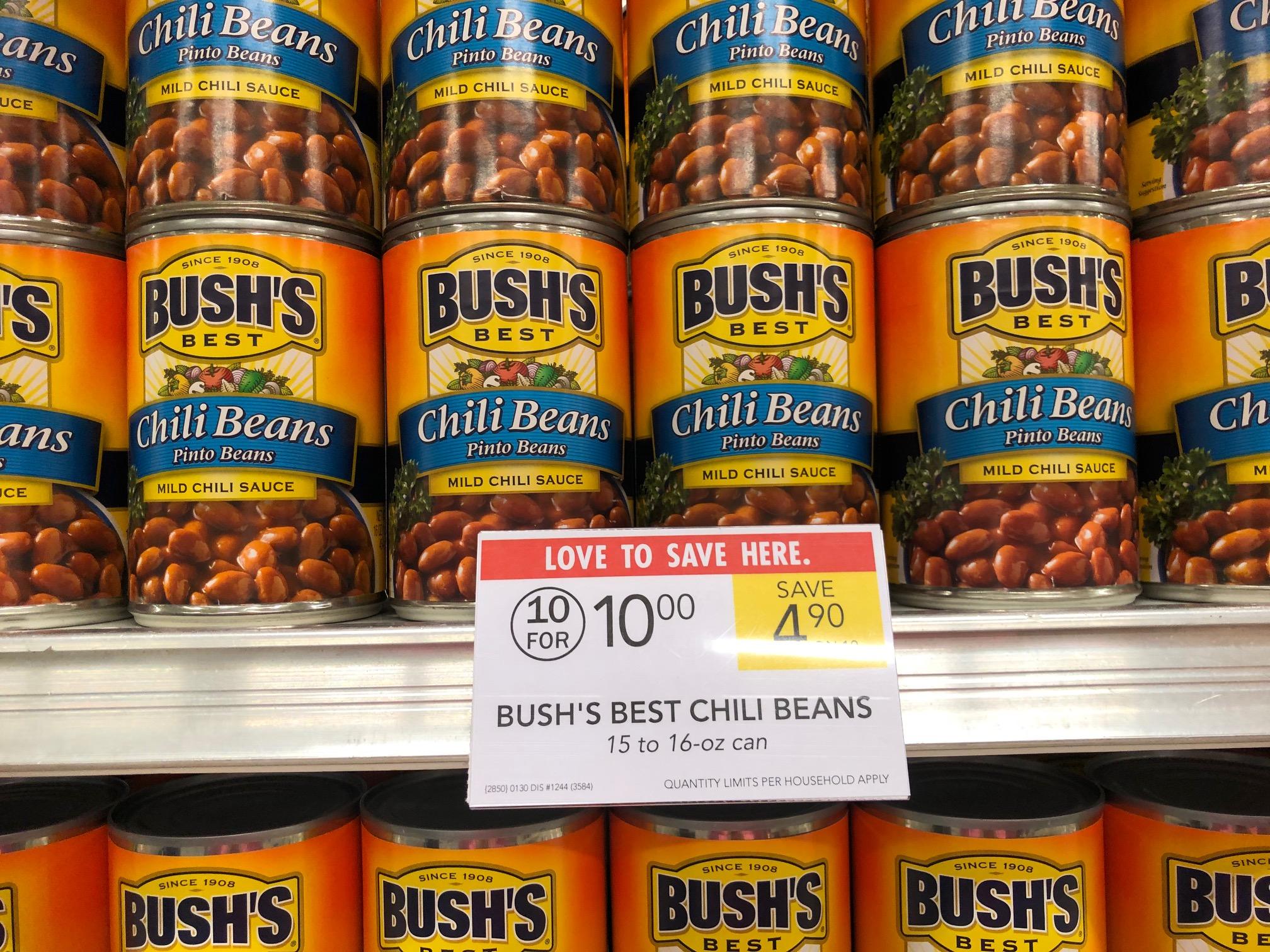 Bush's Best Chili Beans Just 50¢ Per Can At Publix on I Heart Publix