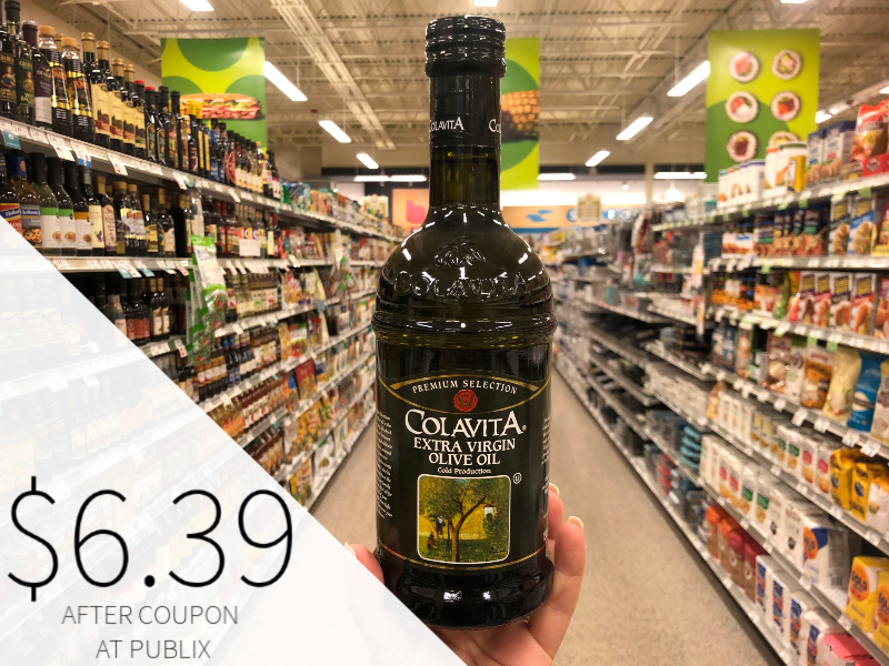 Colavita Extra Virgin Olive Oil Only $8.99 At Publix (Almost Half Off!) on I Heart Publix 1
