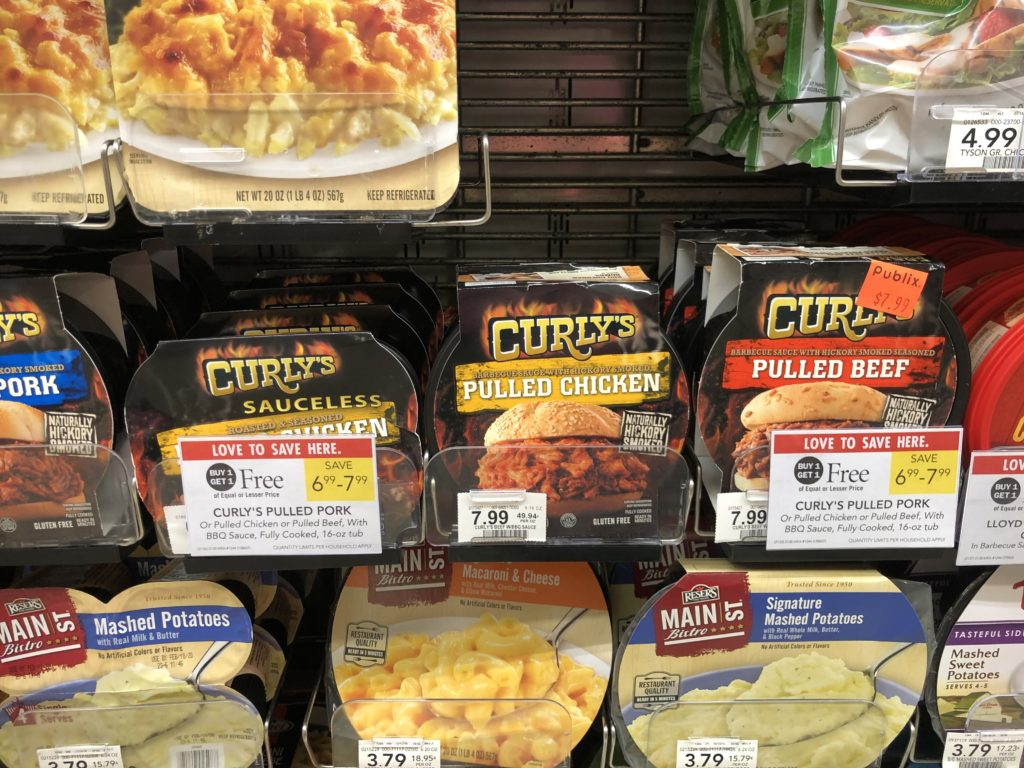 Curly's Pulled Meats Just $2.50 At Publix on I Heart Publix