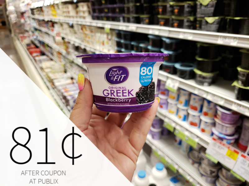 Dannon Yogurt Just 81¢ At Publix on I Heart Publix