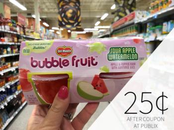 Del Monte Fruit As Low As 25¢ At Publix on I Heart Publix