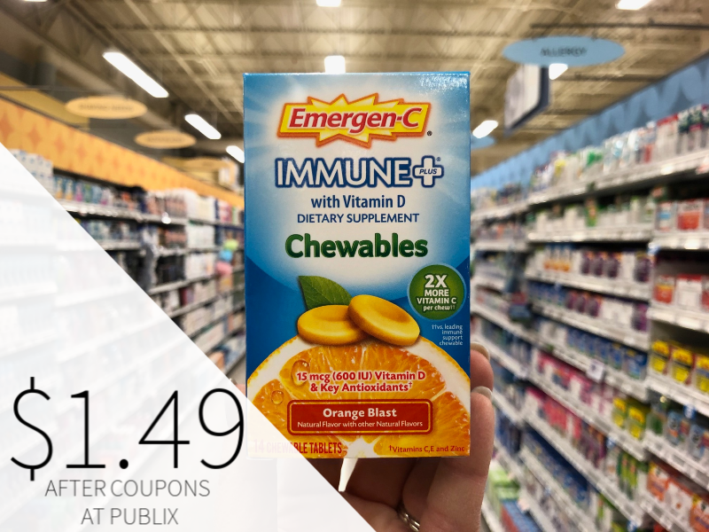Emergen-C Products Just $1.49 At Publix on I Heart Publix