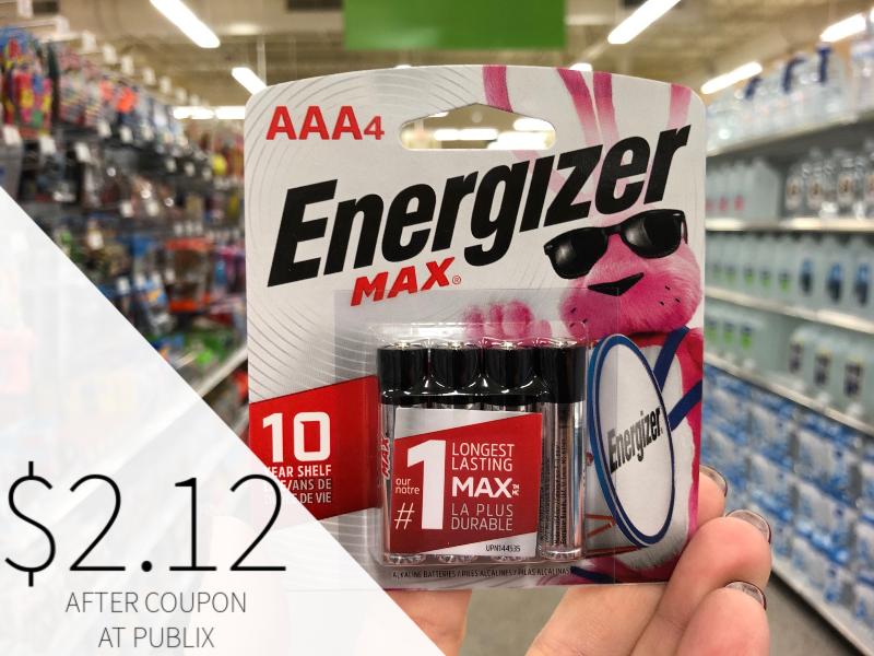 Energizer Max Alkaline Batteries Only $2.12 At Publix on I Heart Publix
