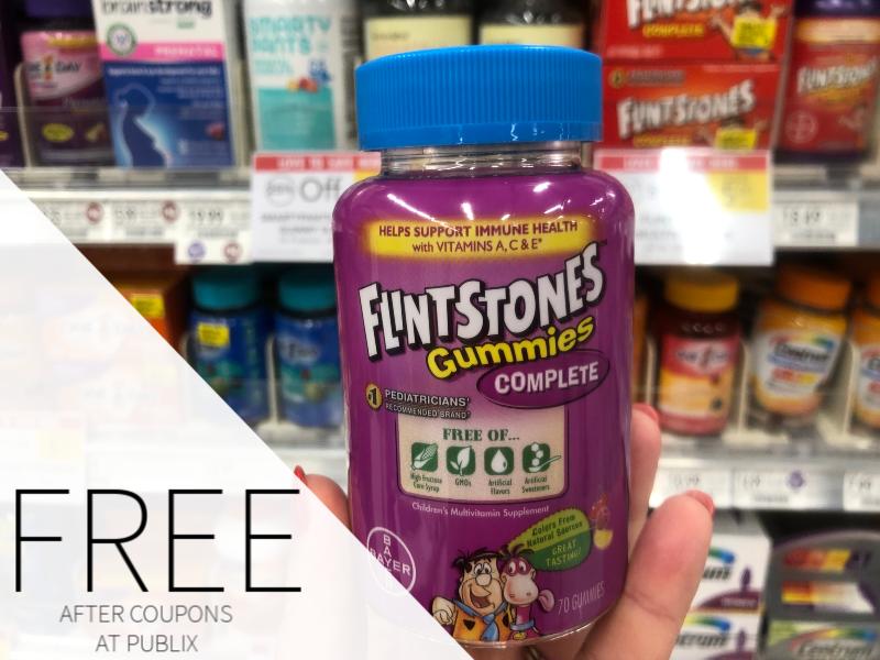 FREE Flintstones Children's Multivitamin Supplement At Publix on I Heart Publix