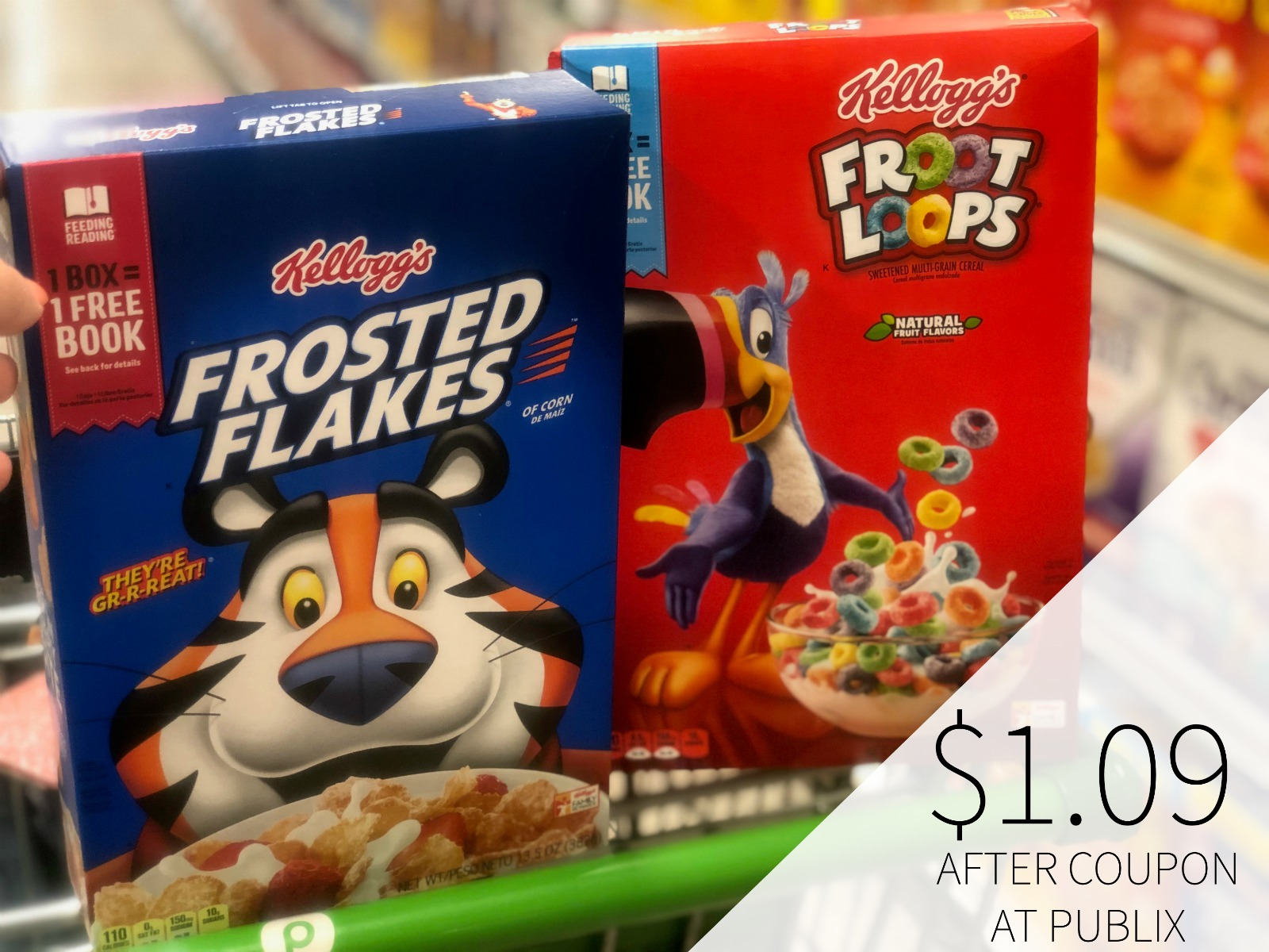 Kellogg's Cereal Only $1.20 At Publix on I Heart Publix 3