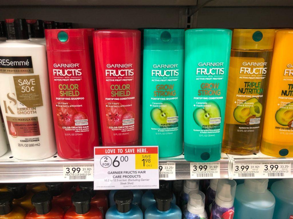Garnier Fructis Hair Care Only $1 Per Bottle At Publix on I Heart Publix