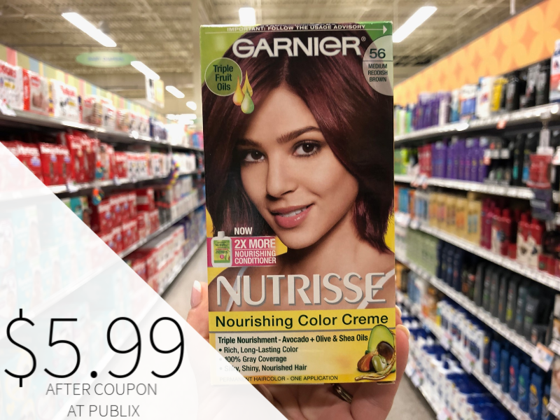 New Garnier Nutrisse Hair Color Coupon - $5.99 At Publix on I Heart Publix 1