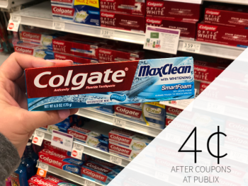 New Colgate Toothpaste As Low As 35¢ At Publix on I Heart Publix 1