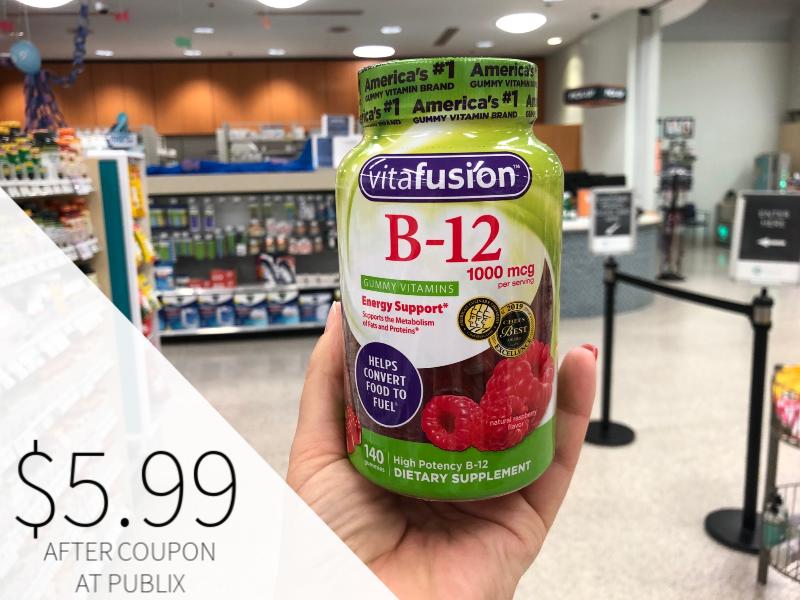 New Vitafusion or L'il Critters Product Coupon - $5.99 At Publix on I Heart Publix