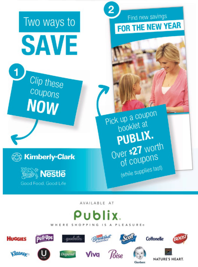 "New Publix Coupon Booklet - ""Find New Savings For The New Year"" Valid 1/20 - 2/20 on I Heart Publix"