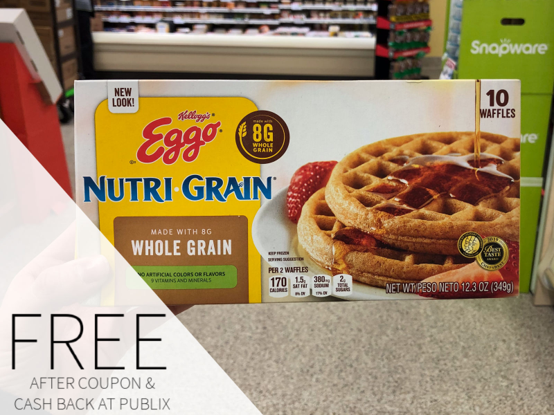 Kellogg's Eggo Waffles Only 33¢ At Publix on I Heart Publix