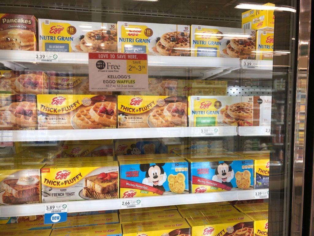Kellogg's Eggo Waffles on I Heart Publix