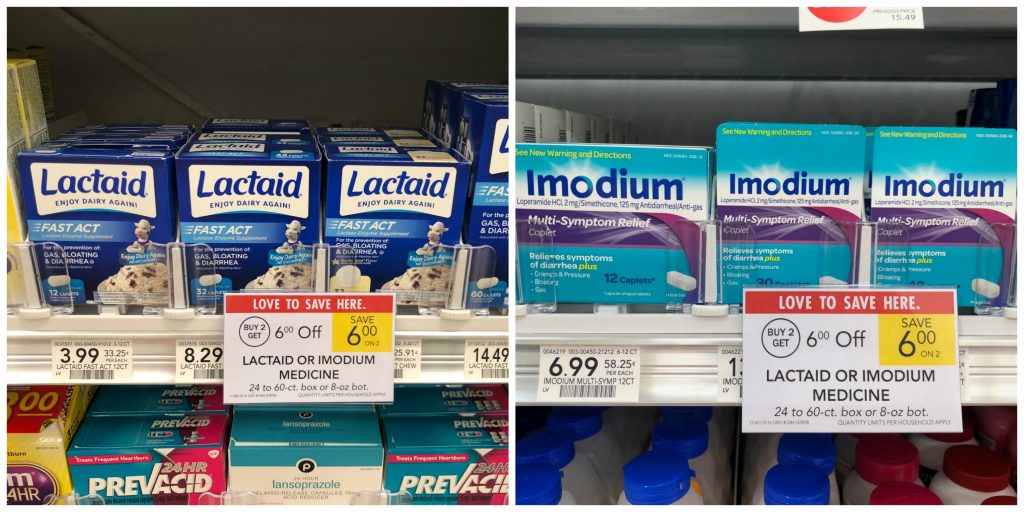New Lactaid & Imodium Coupons - As Low As $1.99 At Publix on I Heart Publix