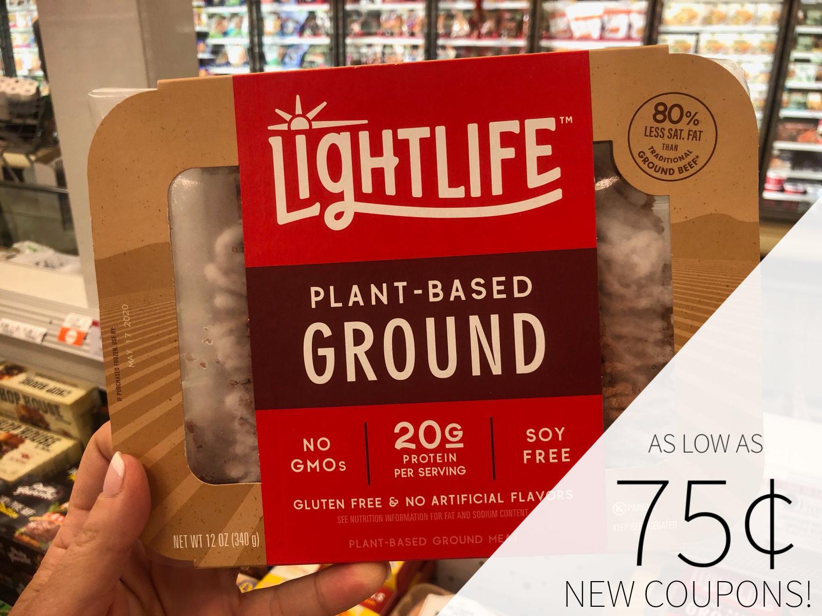 Lightlife Meatless Veggie Burger And Plant-Based Ground At A Fantastic Price At Publix on I Heart Publix 1