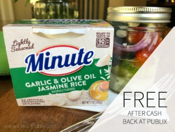 Better Than FREE Minute Ready To Serve Rice! on I Heart Publix