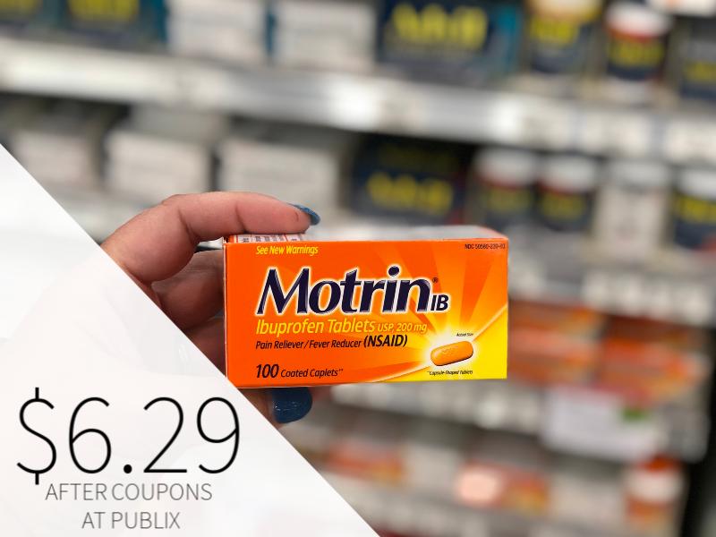 Motrin Just $6.29 At Publix on I Heart Publix