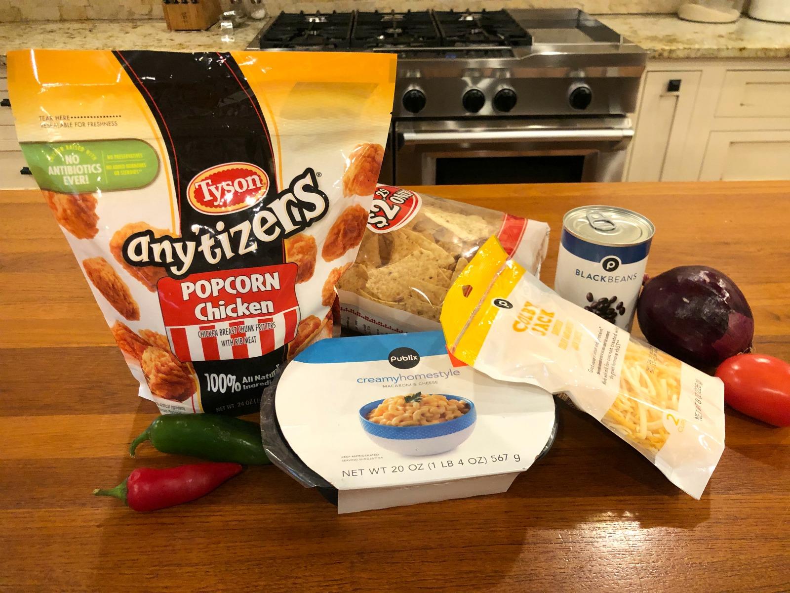Snackaroni & Cheese Nachos on I Heart Publix