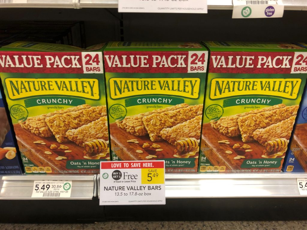 New Nature Valley & Fiber One Coupons - on I Heart Publix