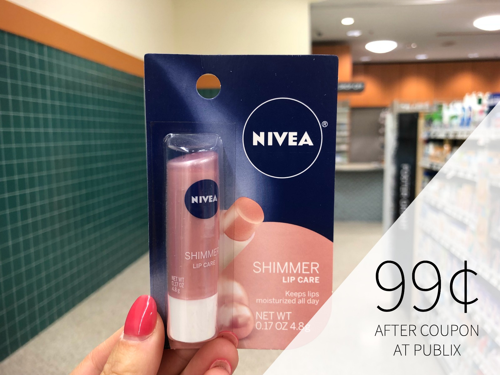 Nivea Lip Care Items Only 87¢ At Publix (Plus Lotion For Just $3.62 - Over Half Off!) on I Heart Publix 1