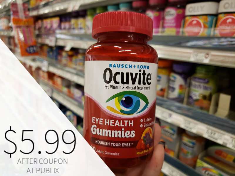 Ocuvite Only $5.99 At Publix (Over Half Off!) on I Heart Publix