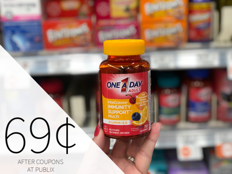 One A Day Vitamins Just 69¢ At Publix on I Heart Publix