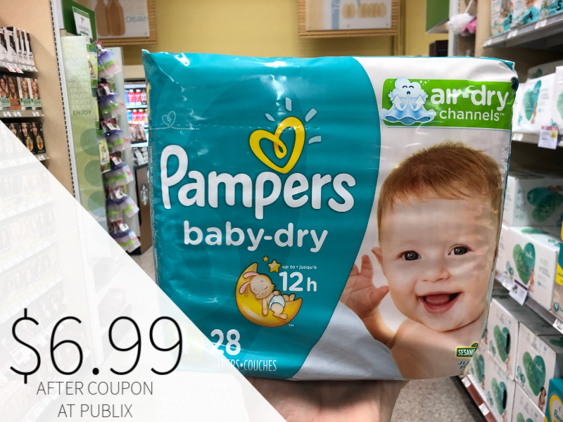 Pampers on I Heart Publix