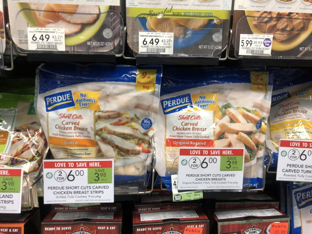Perdue Short Cuts Only $ on I Heart Publix