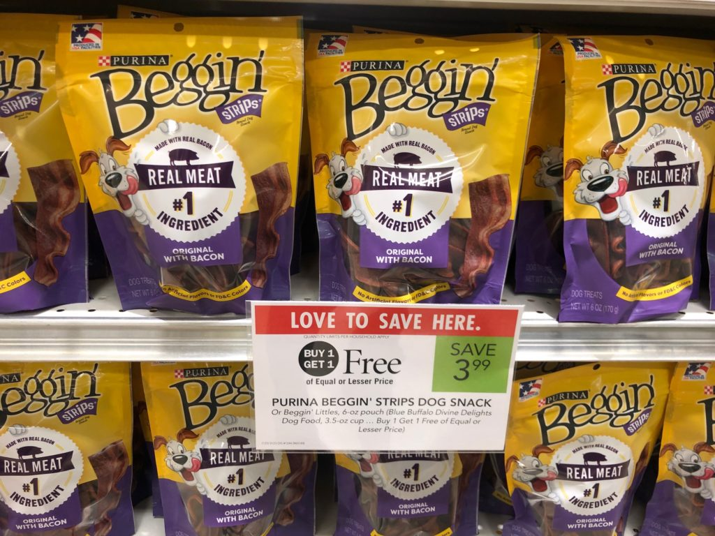 Purina Beggin' Strips Just 50¢ At Publix on I Heart Publix 1