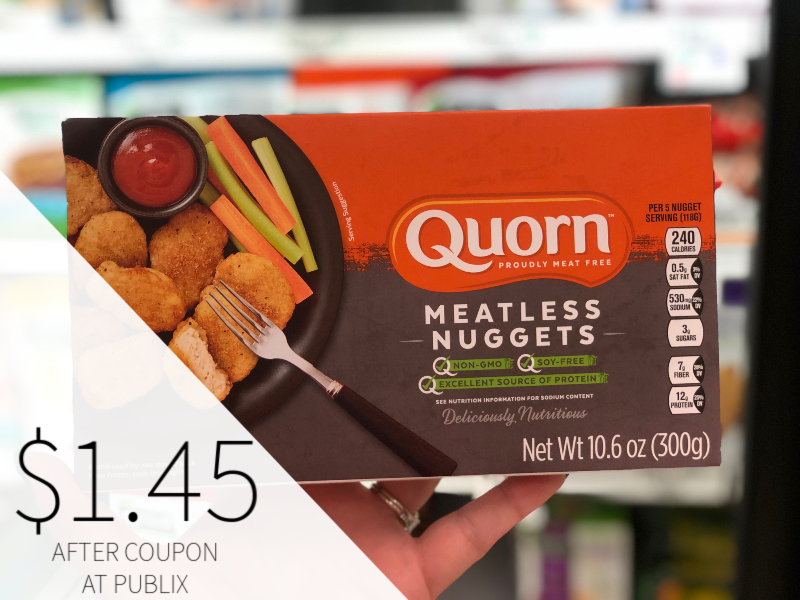 Quorn Meatless Products Only on I Heart Publix 1