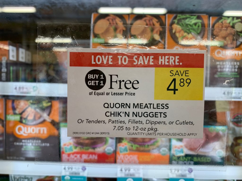 Quorn Meatless Products Only on I Heart Publix